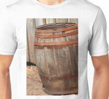 Old Wood Barrel Unisex T-Shirt