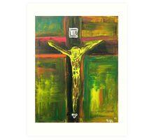 Crucifixion 2010 Art Print
