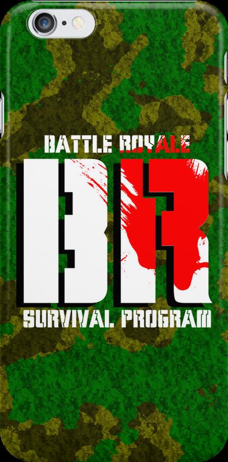 Battle Royale Logo by Anthony Pipitone