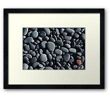 stone background Framed Print