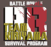Team Kiriyama (Battle Royale) T-Shirt