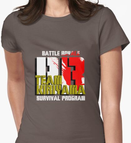 Team Kiriyama (Battle Royale) Womens Fitted T-Shirt