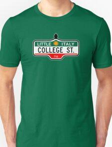 College Street, Toronto Street Sign, Canada T-Shirt