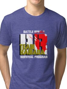 Team Kawada (Battle Royale) Tri-blend T-Shirt