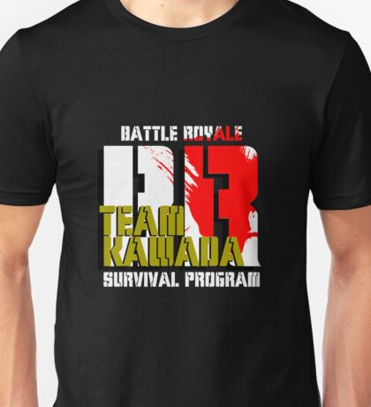 Team Kawada (Battle Royale) Unisex T-Shirt