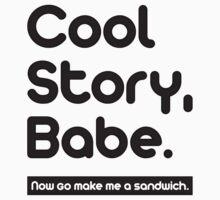 Cool Story Babe ! by vxspitter