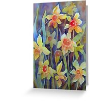 """""""Fluttering and dancing in the breeze"""" Greeting Card"""