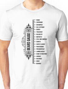 The Beard Gauge Unisex T-Shirt