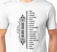 The Beard Gauge Unisex T-Shirt