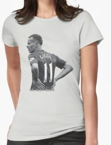 The Welsh Wizard Ryan Giggs Womens Fitted T-Shirt