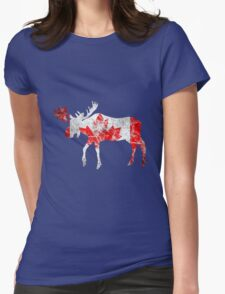 Canadian Moose Womens Fitted T-Shirt
