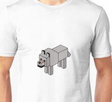 Minecraft Wolf Design Unisex T-Shirt