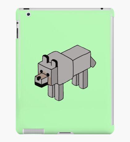 Minecraft Wolf Design iPad Case/Skin