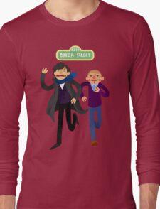 Puppety Sherlock and John Long Sleeve T-Shirt