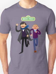 Puppety Sherlock and John T-Shirt