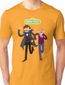Puppety Sherlock and John Unisex T-Shirt