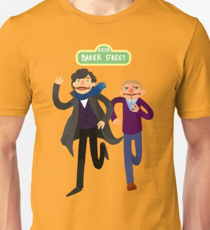 Puppety Sherlock and John Unisex T-Shirt