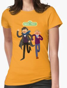 Puppety Sherlock and John Womens Fitted T-Shirt