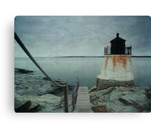 Castle Hill Lighthouse Texture Canvas Print