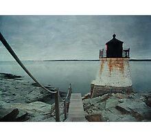 Castle Hill Lighthouse Texture Photographic Print