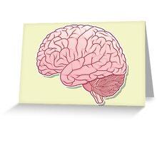 pinky brain Greeting Card