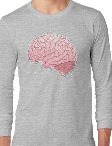 pinky brain Long Sleeve T-Shirt