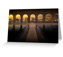 Archway to Doha Greeting Card