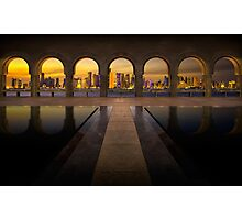 Archway to Doha Photographic Print
