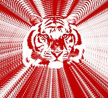 Tiger - Red Radiance by Ron Marton