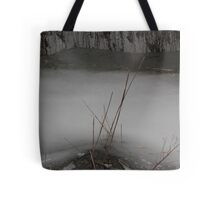 Marsh Grass in Ice Tote Bag