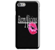 reemAlicious black case iPhone Case/Skin