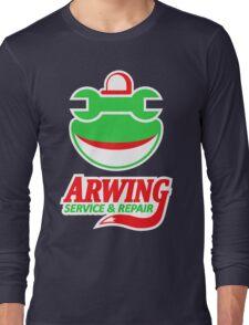 ARWING SERVICE & REPAIR Long Sleeve T-Shirt