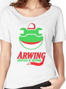 ARWING SERVICE & REPAIR Women's Relaxed Fit T-Shirt