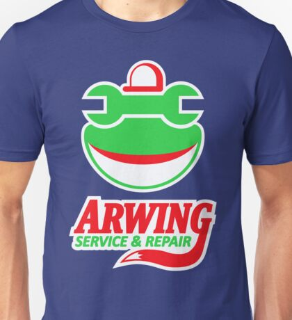 ARWING SERVICE & REPAIR Unisex T-Shirt