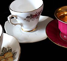Tea for Three by marybedy