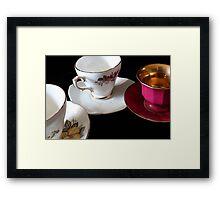 Tea for Three Framed Print
