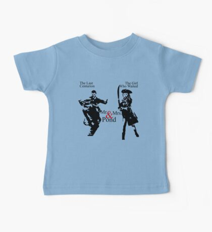 Mr. & Mrs. Pond - Doctor Who Baby Tee