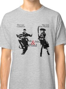 Mr. & Mrs. Pond - Doctor Who Classic T-Shirt