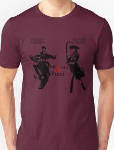 Mr. & Mrs. Pond - Doctor Who Unisex T-Shirt