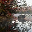 Serene Reflections of Fall by BialySnieg96