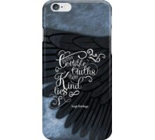 Six of Crows book quote design iPhone Case/Skin