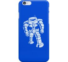 Ames Bros Man-Bot iPhone / iPod Cover - Blue iPhone Case/Skin
