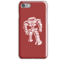 Ames Bros Man-Bot iPhone / iPod Cover - Red iPhone Case/Skin