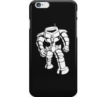 Ames Bros Man-Bot iPhone / iPod Cover - Black iPhone Case/Skin