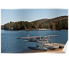 2 Planes on a Lake Poster