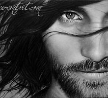 Viggo Mortensen - Aragorn by robdolbs