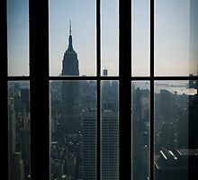 Empire State Building from Rockefeller by pmcdonald