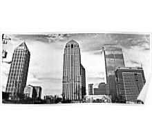 Panoramic Downtown Poster
