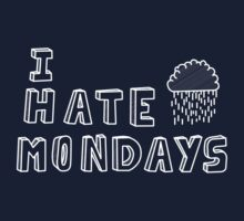 I hate mondays Kids Clothes