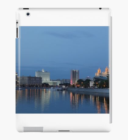 Moscow Russia City Center View iPad Case/Skin